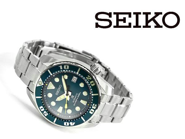 【SEIKO PROSPEX】セイコー プロスペックス オンラインショップ 限定モデル SUMO ダイバースキューバ 自動巻き 手巻き付き 腕時計 メカニカル メンズ グリーンシリーズ SZSC004【あす楽】