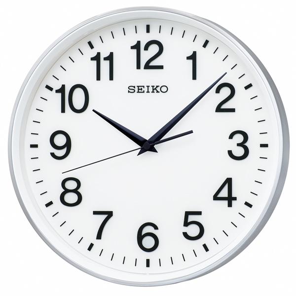 【SEIKO CLOCK】 セイコークロック 衛星電波時計 掛け時計 アナログ GP217S