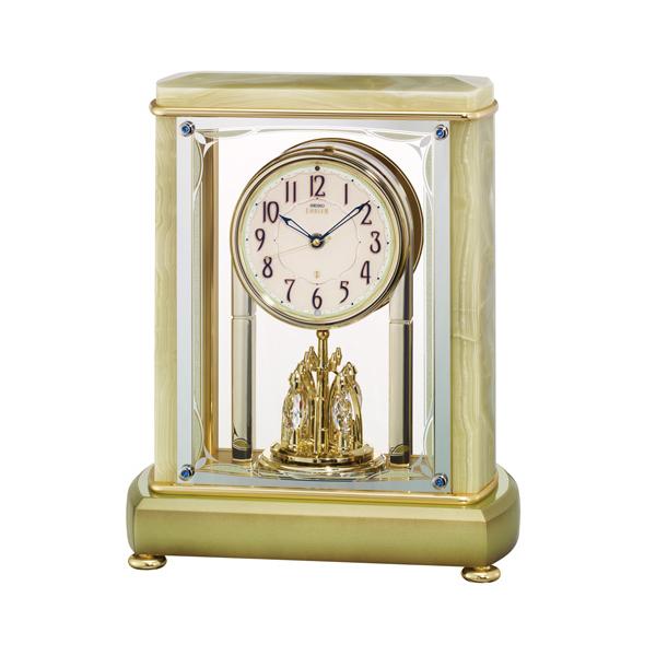 【セイコークロック EMBLEM】 セイコークロック エンブレム 電波置時計 アナログ HW597M