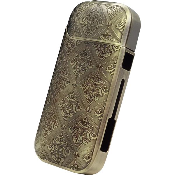 【加熱式タバコケース】 i-STYLES IQOS アイコスケース 日本製 アラベスク ゴールド ISP-020-AR-SF