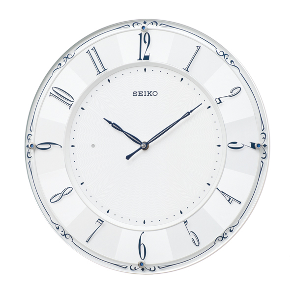 【SEIKO CLOCK】 セイコークロック 電波時計 掛け時計 アナログ KX504W