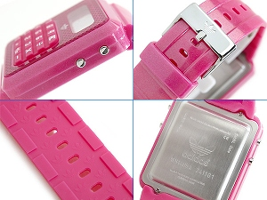 阿迪达斯台北男女通用计算器看粉红色 ADH4054
