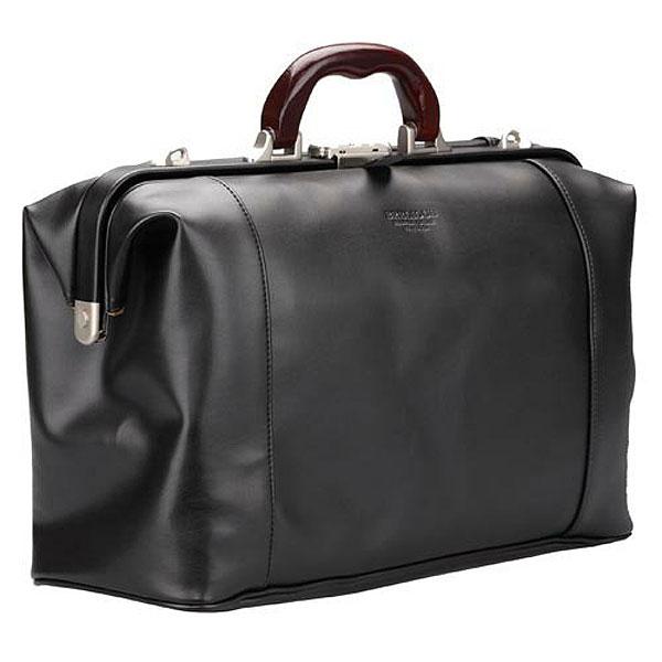 【豊岡製鞄】メンズ ボストンバッグ ダレスバッグ 日本製 合成皮革 ブラック 10428-1