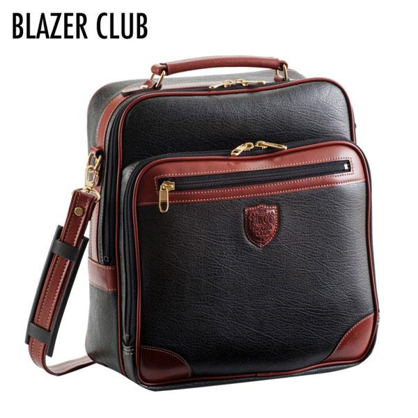 【BLAZER CLUB】 ブレザークラブ メンズ ショルダーバッグ ブラック 16212-1