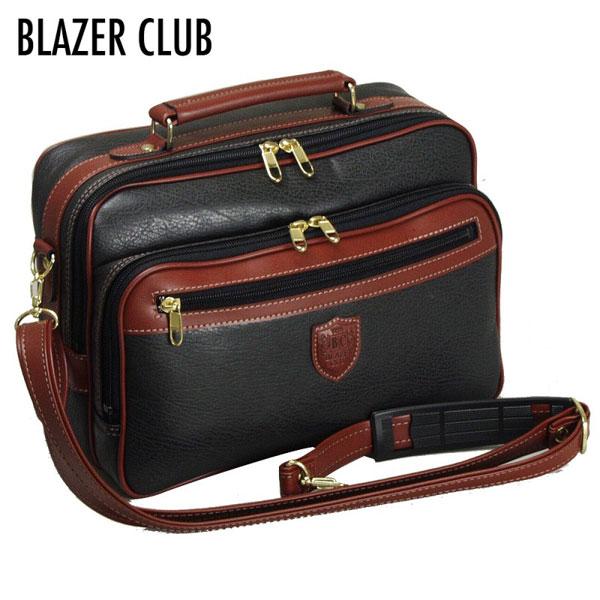【BLAZER CLUB】 ブレザークラブ メンズ ショルダーバッグ ブラック 16222-1