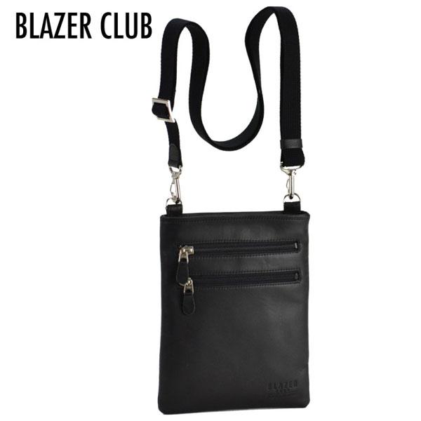 【BLAZER CLUB】 ブレザークラブ 豊岡製鞄 日本製 メンズ ショルダーバッグ ブラック 16367-1