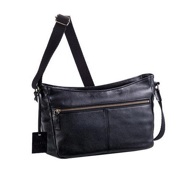【BLAZER CLUB】 ブレザークラブ ショルダーバッグ 豊岡製鞄 日本製 メンズ ブラック 16388-1