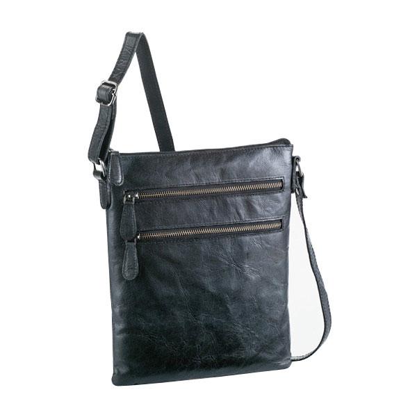 【HAMILTON】 ハミルトン ショルダーバッグ 豊岡製鞄 日本製 メンズ ブラック 16395-1
