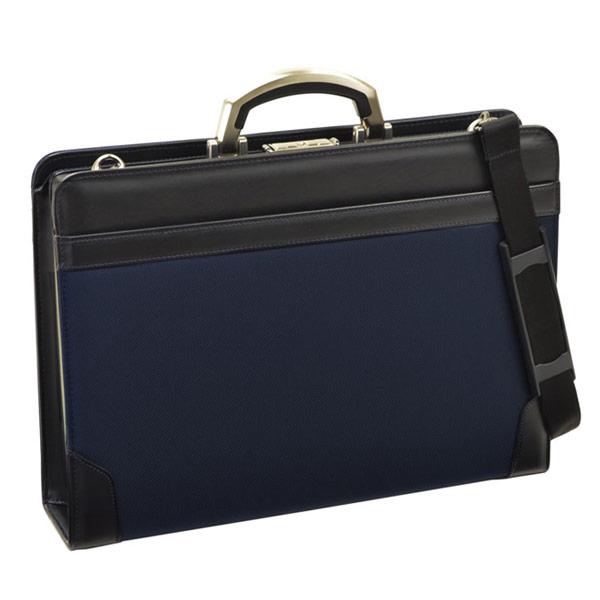 【BROMPTON】 ブロンプトン ビジネスバッグ メンズ 豊岡製鞄 日本製 コーデュラナイロン ネイビー 22296-3