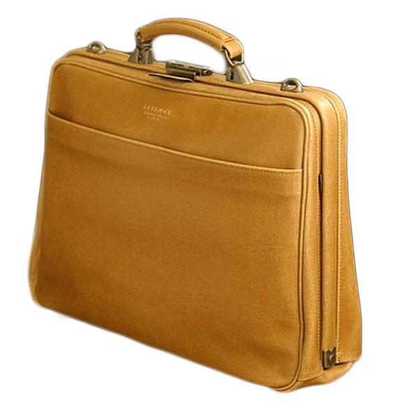【BRELIOUS】 ブレリアス ビジネスバッグ メンズ 豊岡製鞄 日本製 白化合皮 キャメル 22299-10