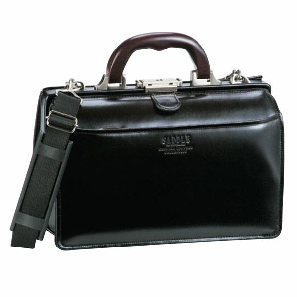 【SADDLE】 サドル ビジネスバッグ メンズ 豊岡製鞄 日本製 牛革 ブラック 22305-1