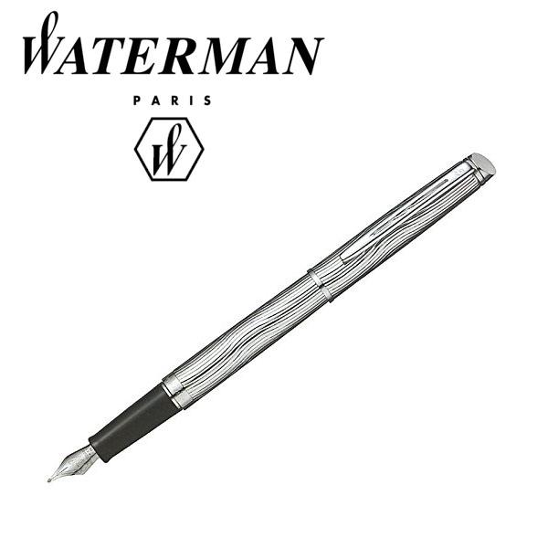 WATERMAN ウォーターマン メトロポリタンデラックス 万年筆 メタルCT WM-METRODX-FP-MECT【ネコポス不可】