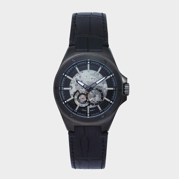 フルボデザイン Furbo design 自動巻き メンズ 腕時計 F2501GBKBK