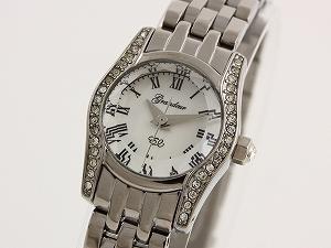 宏伟壮丽女式手表施华洛世奇银 ESL046W1
