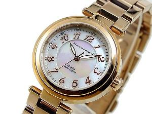 Mauro Jerardi マウロジェラルディ レディース腕時計 ソーラー ゴールド MJ029-1【ネコポス不可】