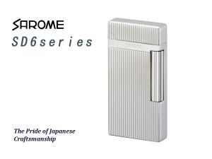 2019年新作 SAROME TOKYO サロメ ガスライター ガスライター フリントライター SD6シリーズ SD6シリーズ シルバー/ダイヤカット サロメ/ヘアライン SD6-17【送料無料】【ネコポス不可】, fujishop:1c13524b --- clftranspo.dominiotemporario.com