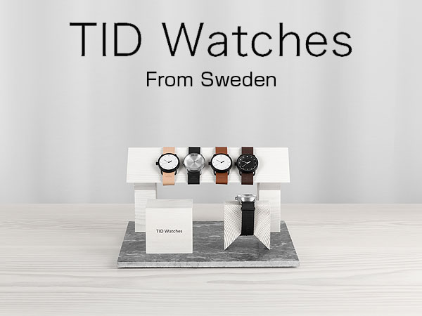 【TID Watches】ティッドウォッチズ 腕時計 40mm ゴールド 時計  ティッド TIDウォッチ メンズ レディース ユニセックス 男女兼用 ナイロン メッシュ NATO ベルト  ギフト プレゼントTID01 TID01-40GD TID01-40GD-N