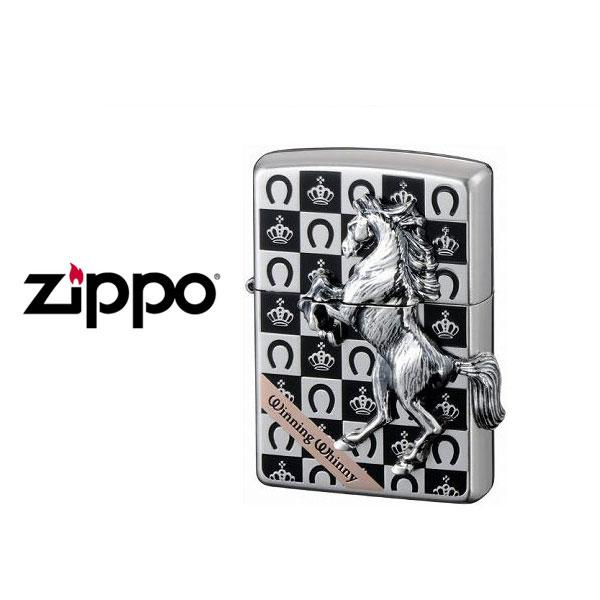 【ZIPPO】ジッポオイルライター Winning Whinny ウイニングウィニー グランドクラウンシルバー WW-GRANDCROWN-SV