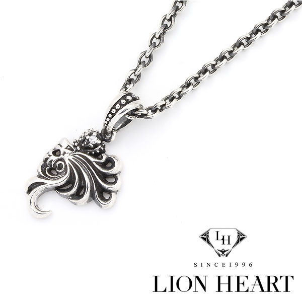 Lionheart Pendant 1more rakuten global market chain necklace lion and crown top lion heart lion chain necklace silver 04n13hl01 crown top audiocablefo
