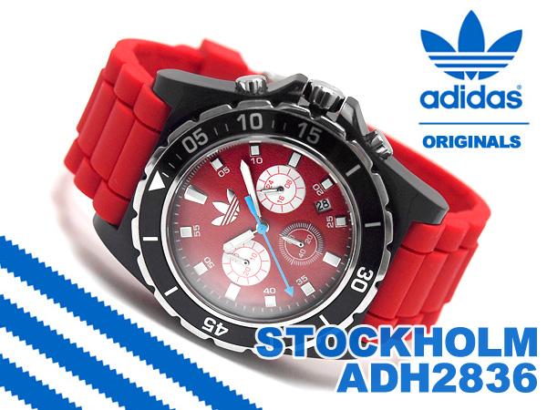 1more rakuten global market adidas stockholm stockholm adidas stockholm stockholm chronograph men watch black red rubber belt adh2836