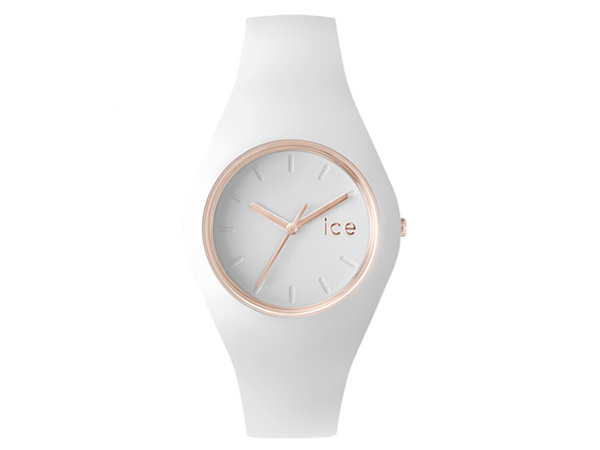 Ice watch ice gram unisex watch white rose gold ICEGLWRGUS