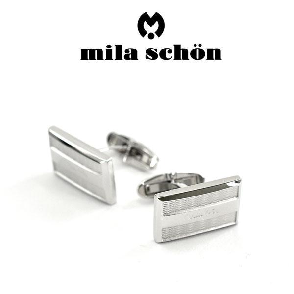 【mila schon】ミラショーン カフス 専用ボックス付き シルバー925 MSC20323