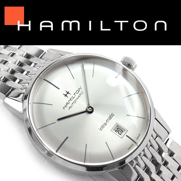 Hamilton AMERICAN CLASSIC INTRA-MATIC AUTO Mechanical men watch H38455151  with the self-winding watch rolling by hand made in Switzerland 65a122a87974