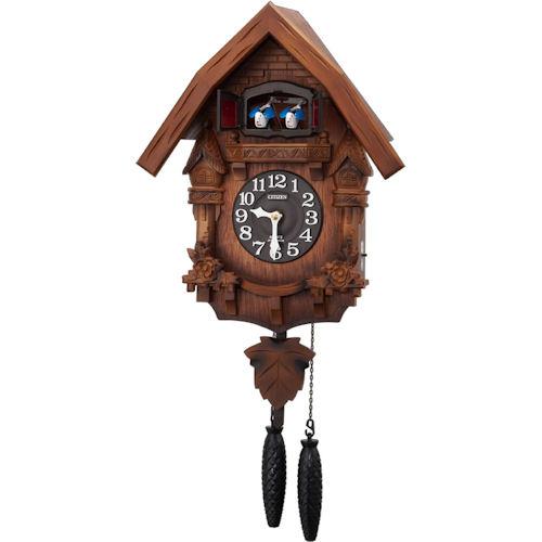 【RHYTHM】リズム工業 鳩時計 カッコーテレスR 掛時計 4MJ236RH06 【ネコポス不可】