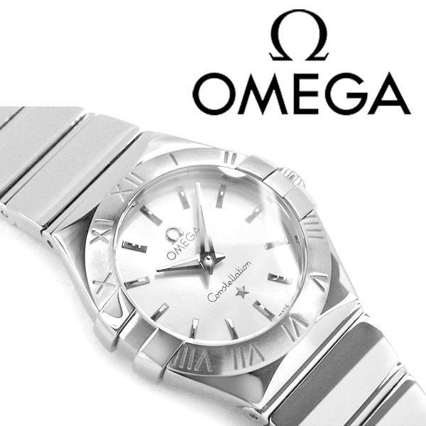 OMEGA オメガ コンステレーション レディース腕時計 ホワイトシルバーダイアル ポリッシュ ステンレスベルト 123.10.24.60.02.002
