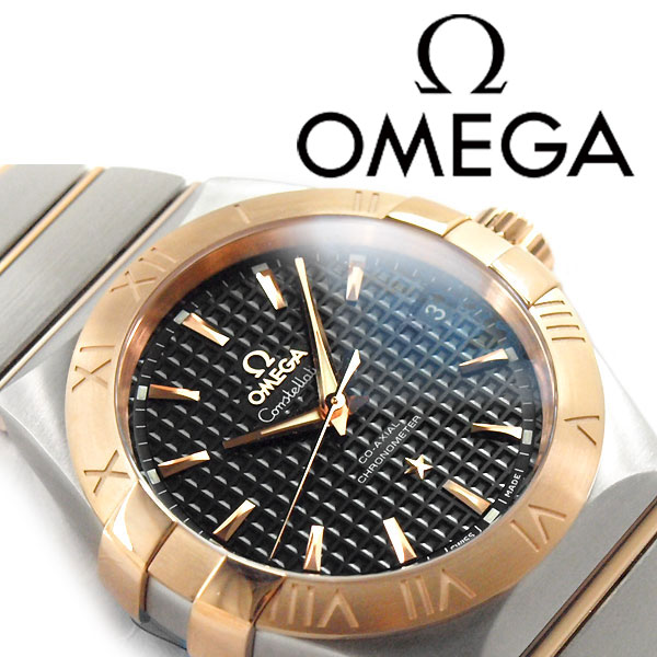 1more Omega Omega Constellation Automatic Mens Watch Black Rose