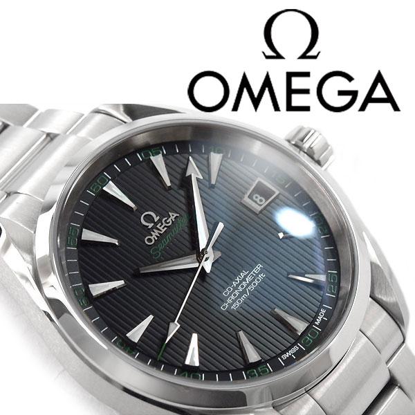 欧米茄欧米茄海马 Aqua Terra 自动自动上弦机械计时男装手表黑色表盘不锈钢带 231.10.42.21.01.001