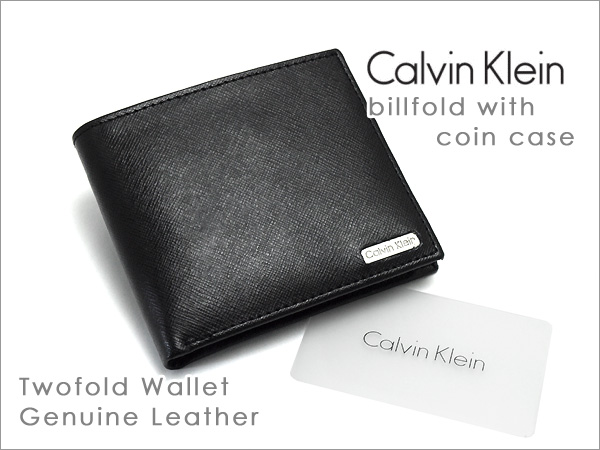 find workmanship shop for authentic latest trends of 2019 Calvin Klein wallet wallet men's 2 fold wallet black 79393-BK
