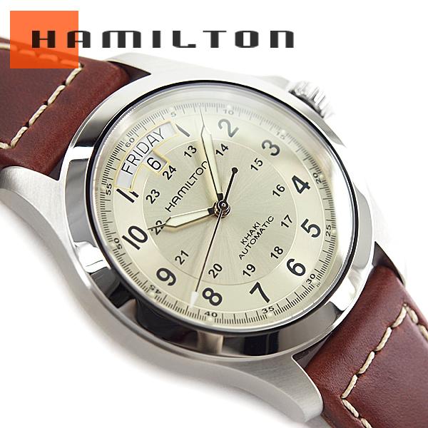 漢密爾頓漢密爾頓卡其野戰王 H64455523 手錶貓 POS 不能