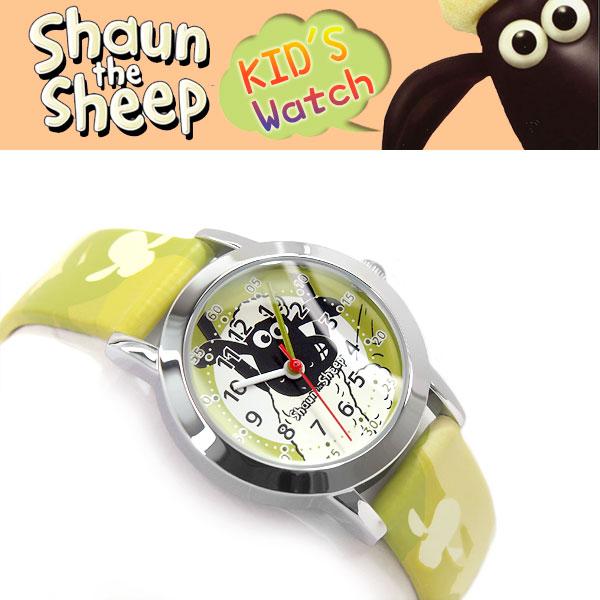 【10%オフ!お買物マラソン】【Shaun the Sheep】 ひつじのショーン 子供用 キッズ 腕時計 ショーンデザイン キッズ ガールズ ボーイズ 小学生 SS101-01【あす楽】