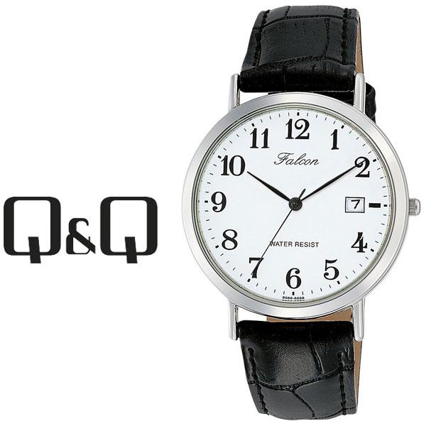 ネコポスを選んでで送料無料 レビューを書いて延長保証付き シチズン キューアンドキュー ファルコン メンズ 腕時計 ホワイト×ブラック D020-304 Falcon キューキュー レビューを書いて1年保証 気質アップ × ブラック CITIZEN QQ セール特価 ホワイト ネコポス送料無料