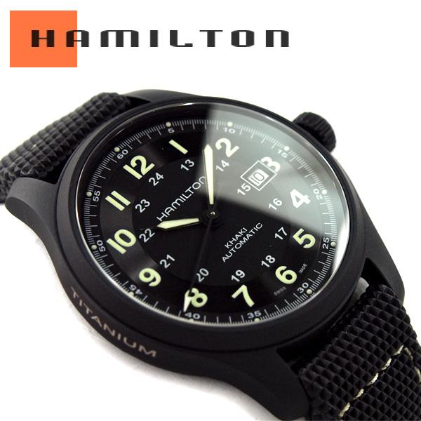 ae1337d72fd HAMILTON Hamilton KHAKI FIELD khaki field Titanium Auto titanium automatic  men watch H70575733