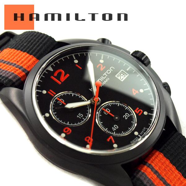 HAMILTON Hamilton KHAKI AVIATION khaki aviation Pilot Pioneer Chrono Quartz  pilot pioneer Chrono quartz mens Watch analog quartz movement battery  operated ... 9f6e07bd86b
