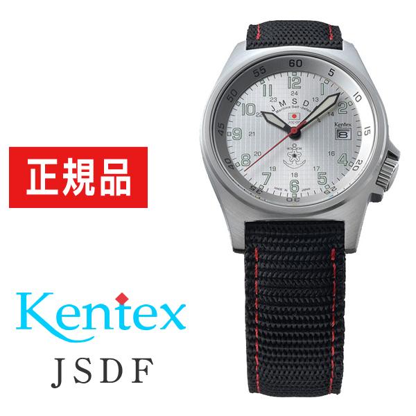 出色 ケンテックス KENTEX 腕時計 メンズ JSDF 海上自衛隊 自衛隊モデル 定番キャンバス ナイロンバンド S455M-03 スタンダード