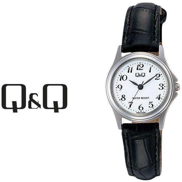 シチズン キューアンドキュー センティニ レディース 贈答品 腕時計 ホワイト×ブラック W379-304 ホワイト 一部予約 CITIZEN キューキュー QQ ブラック ×