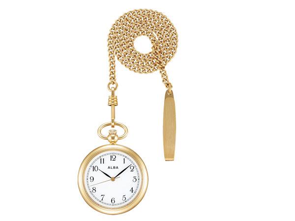 【SEIKO ALBA】セイコー アルバ ポケットウオッチ SEIKO ALBA POCKET WATCH 懐中時計 提げ時計 メンズ レディース AQGK444