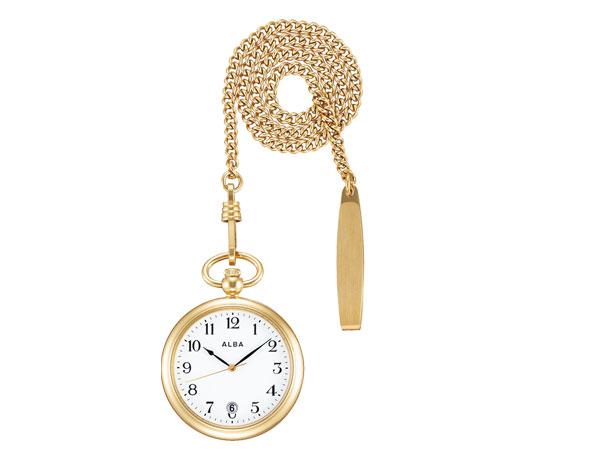 【SEIKO ALBA】セイコー アルバ ポケットウオッチ SEIKO ALBA POCKET WATCH 懐中時計 提げ時計 メンズ レディース AQGK446