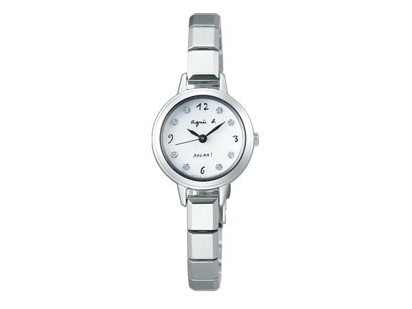 【agnes b.】アニエスベー ソーラー 腕時計 レディース マルチェロ Marcello FBSD951