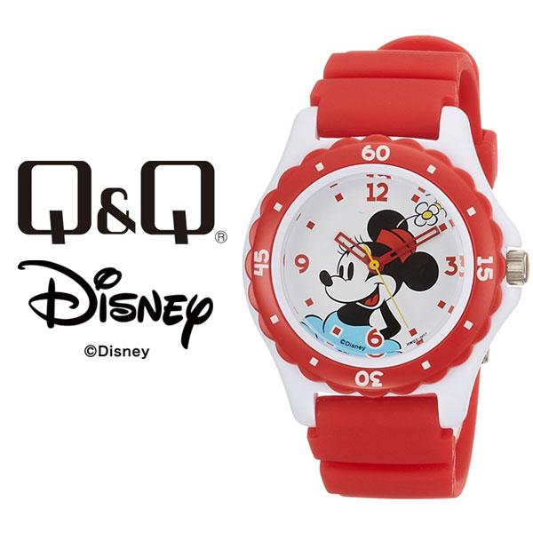 シチズン CITIZEN 【レビューを書いて1年保証】 ミニーマウスモデル HW02-002 ディズニー 腕時計 【ネコポス配送で送料無料】 ダイバー ウォッチ Q&Q レディース Disney キューキュー