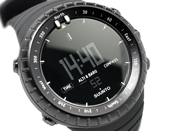 Suunto core outdoor watch digital watch-all black SS014279010