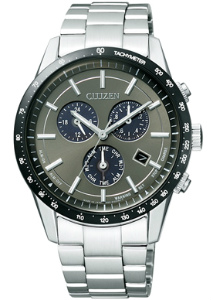 Citizen collection mens watch eco-drive solar chronograph grey BL5594-59H