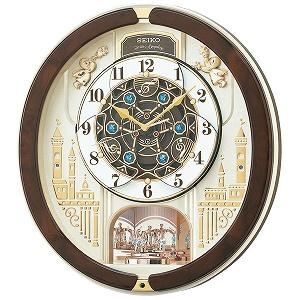セイコー SEIKO 掛け時計 RE579B ゴールドパール