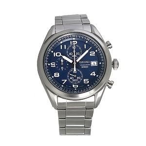 【逆輸入 SEIKO】逆輸入セイコー SEIKO クオーツ メンズ クロノグラフ 腕時計 SSB267P1 ネイビー