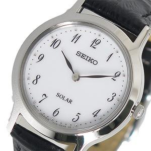【逆輸入 SEIKO】逆輸入セイコー SEIKO ソーラー レディース 腕時計 SUP369P1 ホワイト