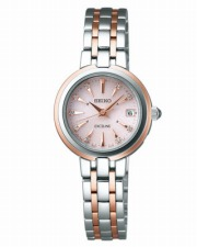 【SEIKO EXCELINE】セイコー エクセリーヌ レディース 腕時計 ソーラー 電波 ピンク SWCW018【正規品】