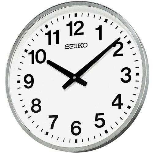 【SEIKO CLOCK】セイコー オフィスクロック 屋外 防雨 掛時計 KH411S